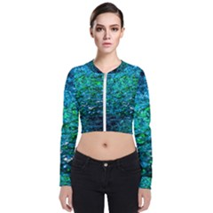 Water Color Green Bomber Jacket by FunnyCow