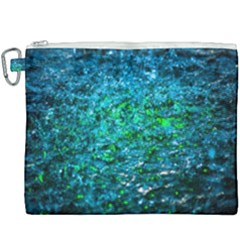 Water Color Green Canvas Cosmetic Bag (xxxl) by FunnyCow