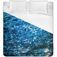 Water Color Blue Duvet Cover (king Size) by FunnyCow
