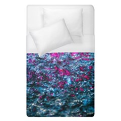 Water Color Violet Duvet Cover (single Size) by FunnyCow