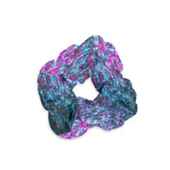 Water Color Violet Velvet Scrunchie by FunnyCow