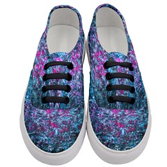 Water Color Violet Women s Classic Low Top Sneakers