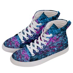 Water Color Violet Women s Hi Top Skate Sneakers by FunnyCow