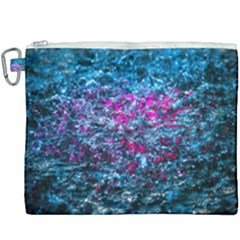 Water Color Violet Canvas Cosmetic Bag (xxxl) by FunnyCow