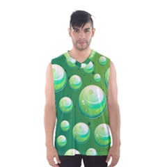 Background Colorful Abstract Circle Men s Basketball Tank Top