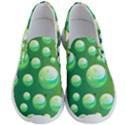 Background Colorful Abstract Circle Men s Lightweight Slip Ons View1
