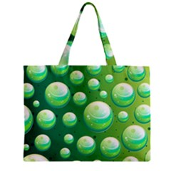 Background Colorful Abstract Circle Zipper Mini Tote Bag