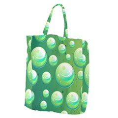 Background Colorful Abstract Circle Giant Grocery Tote