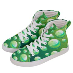 Background Colorful Abstract Circle Women s Hi Top Skate Sneakers by Nexatart