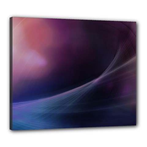 Abstract Form Color Background Canvas 24  X 20