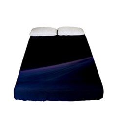 Abstract Form Color Background Fitted Sheet (full/ Double Size)