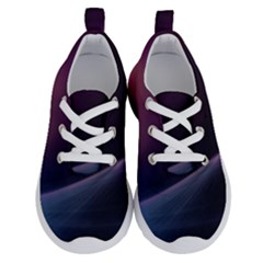 Abstract Form Color Background Running Shoes