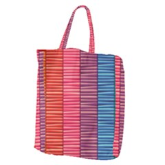 Background Colorful Abstract Giant Grocery Tote