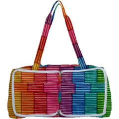 Background Colorful Abstract Multi Function Bag