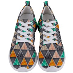 Abstract Geometric Triangle Shape Men s Lightweight Sports Shoes