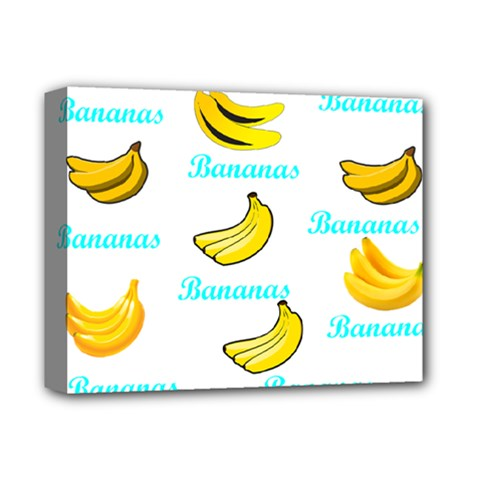 Bananas Deluxe Canvas 14  X 11  by cypryanus