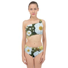 Summer Anemone Sylvestris Spliced Up Two Piece Swimsuit