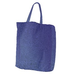 Fractal Rendering Background Blue Giant Grocery Tote