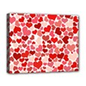 Abstract Background Decoration Hearts Love Deluxe Canvas 20  x 16   View1
