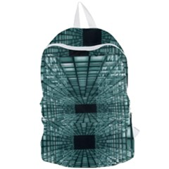 Abstract Perspective Background Foldable Lightweight Backpack