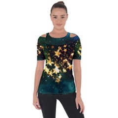 Heart Love Universe Space All Sky Short Sleeve Top