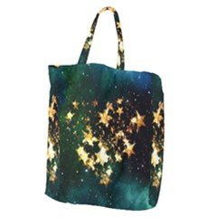 Heart Love Universe Space All Sky Giant Grocery Tote by Nexatart