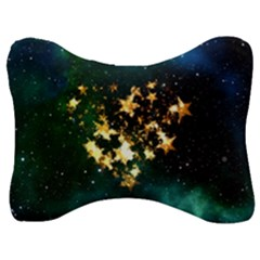 Heart Love Universe Space All Sky Velour Seat Head Rest Cushion by Nexatart