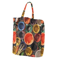 Color Box Colorful Art Artwork Giant Grocery Tote