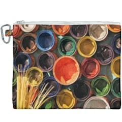 Color Box Colorful Art Artwork Canvas Cosmetic Bag (xxxl) by Nexatart