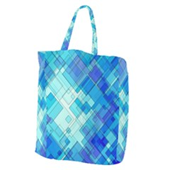 Abstract Squares Arrangement Giant Grocery Tote