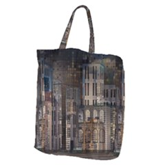 Architecture City Home Window Giant Grocery Tote