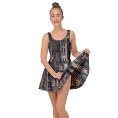 Architecture City Home Window Inside Out Casual Dress