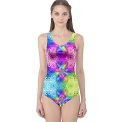 Electricity Squared One Piece Swimsuit