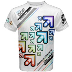 Ddr Vivid Cotton Men s Cotton Tee