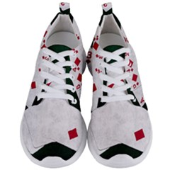 Poker Hands   Straight Flush Diamonds Men s Lightweight Sports Shoes