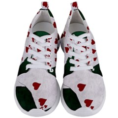 Poker Hands Straight Flush Hearts Men s Lightweight Sports Shoes