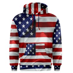 American Usa Flag Men s Pullover Hoodie by FunnyCow