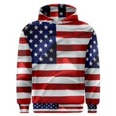 American Usa Flag Men s Overhead Hoodie by FunnyCow