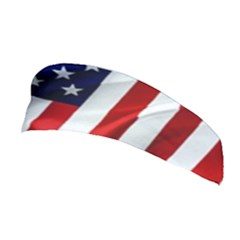 American Usa Flag Vertical Stretchable Headband by FunnyCow