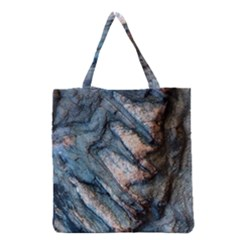 Earth Art Natural Rock Grey Stone Texture Grocery Tote Bag