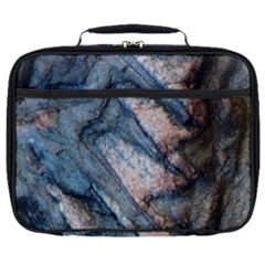Earth Art Natural Rock Grey Stone Texture Full Print Lunch Bag