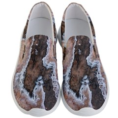 Earth Art Natural Texture Salt Of The Earth Men s Lightweight Slip Ons by CrypticFragmentsDesign