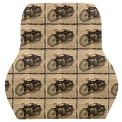 Indian Motorcycle Car Seat Back Cushion  by ArtworkByPatrick1