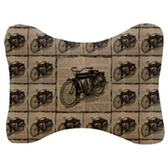 Indian Motorcycle 1 Velour Seat Head Rest Cushion by ArtworkByPatrick1