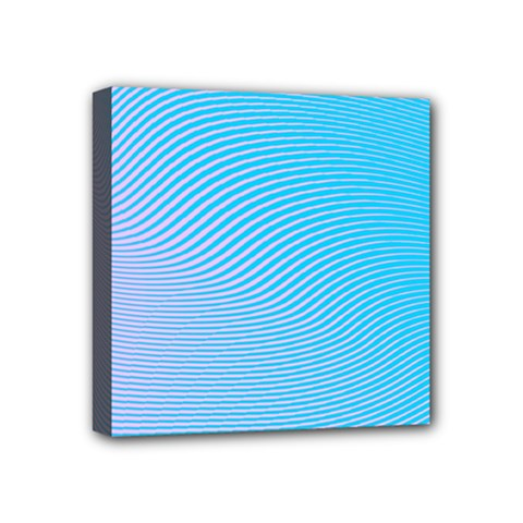 Background Graphics Lines Wave Mini Canvas 4  X 4
