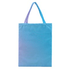 Background Graphics Lines Wave Classic Tote Bag by Nexatart