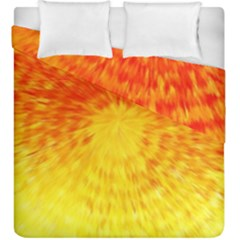 Abstract Explosion Blow Up Circle Duvet Cover Double Side (king Size)