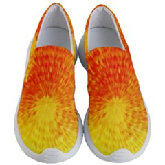 Abstract Explosion Blow Up Circle Women s Lightweight Slip Ons