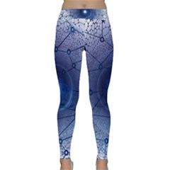 Network Social Abstract Classic Yoga Leggings