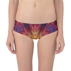Fractal Abstract Artistic Classic Bikini Bottoms